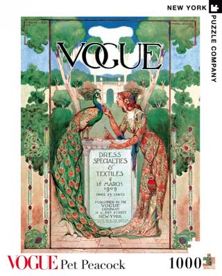 Vogue Pretty as A Peacock - 1000 Piece Jigsaw Puzzle