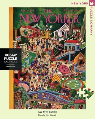 New Yorker Day At the Zoo - 1000 Piece Jigsaw Puzzle