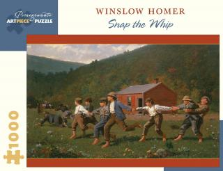 Winslow Homer Snap the Whip – 1000 Piece Jigsaw Puzzle