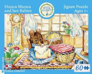 Hunca Munca & Her Babies - 60 Piece Jigsaw Puzzle