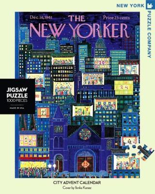 City Advent Calendar - 1000 Piece Jigsaw Puzzle - Box Front
