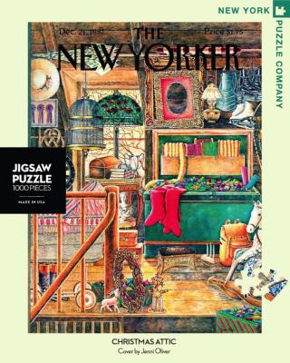 Christmas Attic - 1000 Piece Jigsaw Puzzle - Box Front
