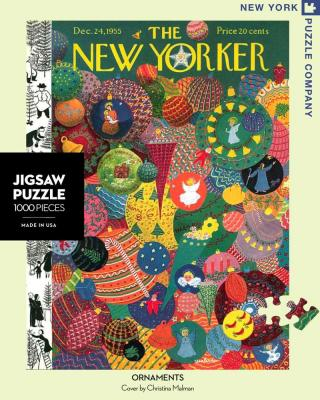 Holiday Ornaments - 1000 Piece Jigsaw Puzzle - Box Front