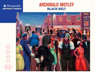 Archibald Motley Black Belt - 1000 Piece Jigsaw Puzzle
