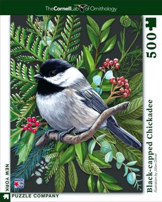 Black-capped Chickadee - 500 Piece Jigsaw Puzzle - Box Front