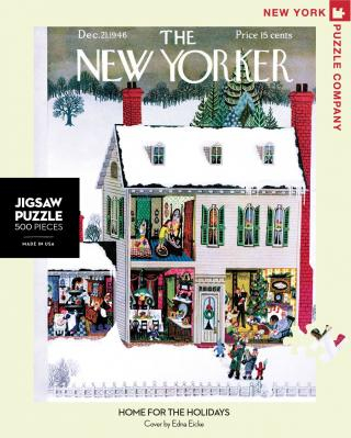 Home for the Holidays - 500 Piece Jigsaw Puzzle - Box Front