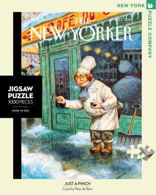 Just a Pinch - 1000 Piece Jigsaw Puzzle - Box